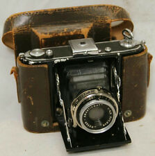 "5.5"" VINTAGE ZEISS IKON NOVAR CAMERA WITH LEATHER CASE MADE IN GERMANY"