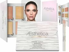 Aesthetica Highlighting 5Pc Kit Makeup Palette Set 1 Powder 4 Liquid Highlighter