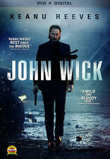 John Wick NEW (DVD, + Digital Download 2015 Keanu Reeves)