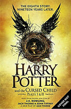NEW: Harry Potter and the Cursed Child - Parts I & II PRE ORDER -2016-UK-SH01