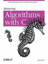 Mastering Algorithms with C, Loudon, Kyle, Acceptable Book