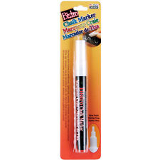 Bistro Chalk Marker Fine Point 1/Pkg-White Marvy