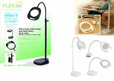 PURELITE 3 IN 1 MAGNIFYING LAMP-FLOOR STANDING ,TABLE AND CLIP ON