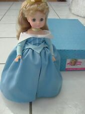 "Madam Alexander Doll Disney Sleeping Beauty 14"" with stand and box rare"