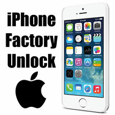 AT&T iPhone 6S+/6S/6+/6/5s/5c/5/4s/4/3gs Factory Unlock  Code Service Clean imei