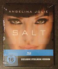 SALT Blu-Ray SteelBook German Exclusive Unrated Extended 3 Versions New OOP Rare
