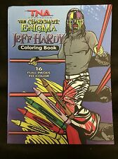 TNA Impact Wrestling Willow Jeff Hardy Coloring Book Brand New 16 Pages WWE