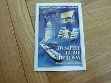 TO SAFETY GUIDE THEIR WAY BOOK HAND SIGNED BY AUTHOR TO CAPT ERIC WINKLE BROWN