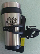 BEVERAGE COFFEE MUG HOLDER HANDLEBAR MOUNT VICTORY VISION CROSS COUNTRY TOURING