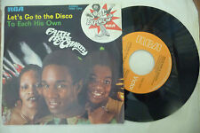 "FAITH HOPE&CHARITY""LET'S GO TO THE DISCO-disco 45 giri RCA italy 1975"""