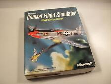 Microsoft COMBAT FLIGHT SIMULATOR WWII Europe Series Pc Cd Rom Original BIG BOX