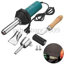1080W Hot Air Gas Torch Plastic Welding Gun Welder Pistol Tools with Rod &Roller