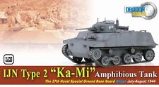 "Dragon Armor 1/72 Scale WWII German  IJN Type 2 ""Ka-Mi"" Amphibious Tank 60584"
