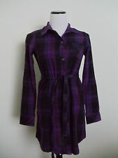 O'neill Purple Button Down Long Sleeve Top Size XS