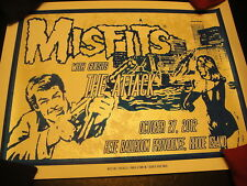 Misfits 2012 Rhode Island Show Poster LTD ED Signed Only 40 Produced! Danzig