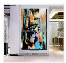 HOT Modern 100% Hand-painted sexy Girl Oil Painting On Canvas (no framed )