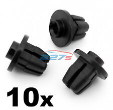 10x Screw Grommets- Fit some Toyota Bumper, Wing, Mudguard & Spoiler- 9x9mm hole