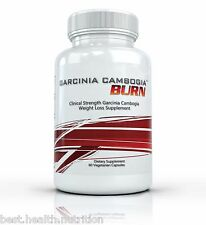 CLINICAL STRENGTH GARCINIA CAMBOGIA BURN Fat Burner