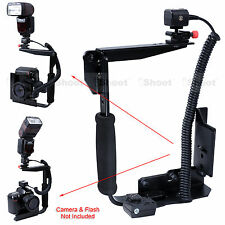Camera Supporto Stativo Flash i-TTL Cavo Cord per Nikon SB910 SB900 SB800 SB700