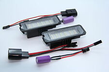 2x MODUL LED SMD Kennzeichenbeleuchtung Seat Ibiza 6J Sport FR Cupra TÜV FREI