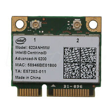 Intel Half 622AN 6200 Mini PCI-E Card 300Mbps for DELL Acer Gateway Notebook 1pc