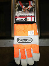 Oregon Chain Saw Gloves - 91305M Medium size- $18 a Pair