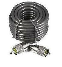 15m MINI 8 / RG8 lead. 50 Ohm. con montati i connettori PL259