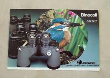 F011 - Advertising Pubblicità - 1985 - BINOCOLI SWIFT FRABE