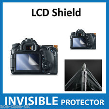 Canon EOS 760D, 70D, Rebel T6s, 8000D Dslr INVISIBLE LCD Screen Protector Shield