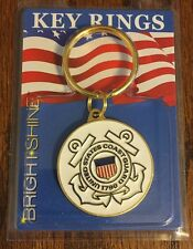 U.S. COAST GUARD KEY RING - VIVID COLOR - NEW - NEVER USED