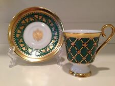 Hochst Peter The Great Green Cup/Saucer