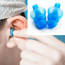 Silicone Ear Plugs Anti Noise Snore Earplugs 1 Pair Comfortable For Study Sleep