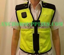 Ex Police Niton Hi Vis Mesh Vest Medium 30''-40'' chest