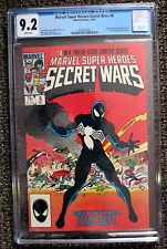 Marvel Super Heroes Secret Wars #8 First Venom Black Costume CGC 9.2 Spider-man