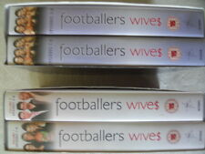 Footballers Wives VHS Video tapes x 4, 16 episodes series 1 & 2.