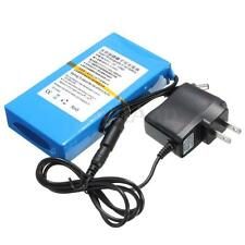 DC 12V 8000mAh Backup Rechargeable Li-ion Battery for CCTV Camera US-Plug