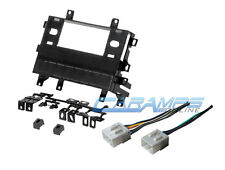 MAZDA CAR RADIO STEREO DASH INSTALLATION MOUNTING TRIM BEZEL KIT WIRING HARNESS