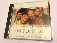 ONE TRUE THING (Cliff Eidelman) OOP 1998 Varese Soundtrack Score OST CD EX