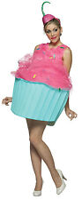Womens 4-10 Cupcake Adult Costume - Funny Costumes