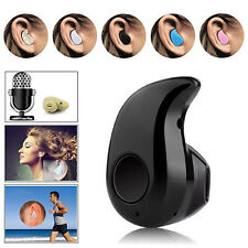 Black Mini Wireless Bluetooth 4.0 Stereo In-Ear Headset Earphone Earpiece L7
