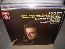 STILL / PERLMAN / BACH violin concertos ( classical ) angel digital - PROMO