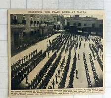 1902 Receiving Peace News At Malta Palace Square From Bells Bank