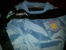 Aston villa training top worn by players