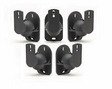 5 Pack Universal Satellite Speaker Wall Mount Bose Stand Bracket Free USA Ship!