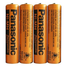 [USA] 4 Panasonic 1.2V Ni-MH AAA Rechargeable Batteries For cordless Phones(x 4)