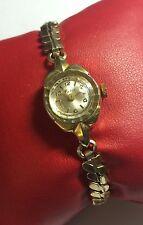 NOS Swiss Made Mechanical Goldtone Watco Ladies Watch