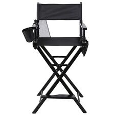 Professional Makeup Artist Directors Chair Wood Light Weight Foldable Black 2016