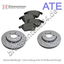 ZIMMERMANN SPORTBREMSSCHEIBEN + ATE Bremsbeläge vorne PORSCHE 298x24mm