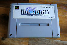 Jeu FINAL FANTASY V 5 pour Nintendo Super FAMICOM (Jap)
