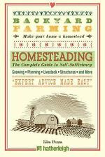 Backyard Farming: Homesteading~Guide to Self-Sufficiency~Grow Food~Livestock~NEW